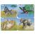 Larsen Mini Puzzle - Afrikai állatok
