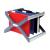 REXEL Crystalfile extra desk organisa frame