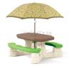 Step2 Step2 - Hat személyes piknikasztal ernyővel kerti játék