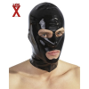 LATE X Nyitott latex maszk