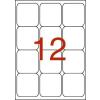 APLI 3 pályás etikett, 63,5 x 72 mm, kerekített sarkú,  1200 etikett/csomag