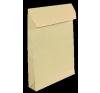 VICTORIA TC4-es redős-talpas, szilikonos tasak, barna kraf t papír, 40 mm talp tasak
