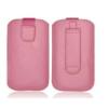 DREIM HTC Desire HD kihúzós bőrtok,mintás,Pink