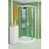 Ravak NRKCP4-80 Fehér+Grape Rapier - negyedköríves zuhanykabin