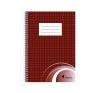 VICTORIA Spirálfüzet A5, 70 lap, kockás füzet