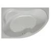 Kolpa San Kolpa San Lulu jobbos 170*110 beépíthető aszimmetrikus kád kád, zuhanykabin