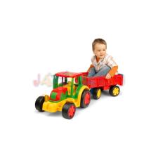 Wader Óriás traktor utánfutóval tili toli