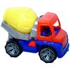 LENA Piros-zöld markolós traktor sofőrrel