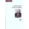 Immanuel Kant A tiszta ész kritikája