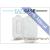 EGYEB DECO SLIM univerzális bőrtok - Nokia Asha 300 - fehér