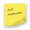 Öntapadós jegyzettömb pd 75x75 mm 100 lapos sárga