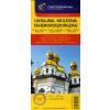 Cartographia Kft. UKRAJNA, MOLDOVA, FEHÉROROSZORSZÁG AUTÓSTÉRKÉP 1 : 2000000
