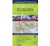 Corvina Kiadó 860 000 - Autóstérkép - Bulgária, Görögország, Ciprus, Macedónia, Törökország Égei-tengeri partvidéke térkép
