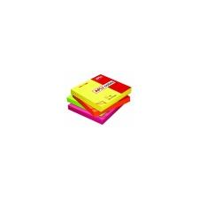 APLI Öntapadó jegyzettömb neon zöld 100 lap post-it