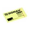 DONAU ECO Öntapadó jegyzettömb pasztell sárga 100 lapos 127x76 mm