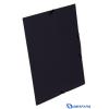 VIQUEL Standard fekete PP gumis mappa 15mm