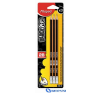 MAPED BLACK`PEPS grafitceruza radírral 2B 3db/bliszter ceruza