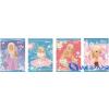 UNIPAP Barbie glitter füzet A5 32 lapos 3. osztályos vonalas