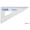 DONAU Műanyag háromszög vonalzó 60 fokos