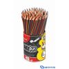 MAPED BLACK`PEPS grafitceruza radírral ceruzatartóban HB 72 db