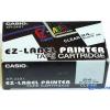 Casio 24mm x 8m fehér-fekete