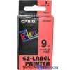 Casio 9mm x 8m szalag fehér-kék