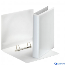 ESSELTE A5 panorámás gyűrűskönyv 2 D gyűrűvel 47mm gerinc fehér gyűrűskönyv
