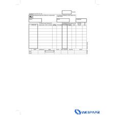 VICTORIA Készletkivételezési bizonylat 25x4 lap B.12-114/V nyomtatvány