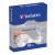 Verbatim Papír CD/DVD boríték, ablakos, öntapadó füllel, fehér