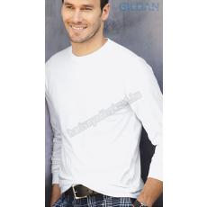 HDI Gildan 64400 hosszúujjú póló - fehér