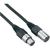 Paccs Hangszórókábel XLR-apa/XLR-anya 15 m