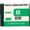 Conrad Conrad energy Sony kamera akku NP-BD1/FD1 3,6 V 650 mAh