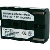Conrad energy Conrad energy Samsung SLB-L110 kamera akku, 7,4 V 1300 mAh