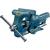 Heuer HEUER nagyméretű ipari párhuzam satu 140 mm széles védőpofával