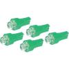 Conrad Eufab LED-es műszerfallámpa, 12V, T5, zöld, 5 db