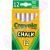Crayola Táblakréta 12 db-os fehér