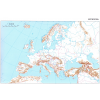 Stiefel Eurocart Kft. Európa körvonalas munkatérképe