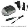 WPOWER Panasonic DMW-BCF10, DMW-BCG10 akku töltő