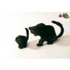 Rémisztő fekete macska - Halloween