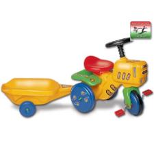 Smoby Kerti traktor utánfutóval - pedálos kerti jármű