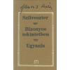 Hamvas Béla SZILVESZTER - BIZONYOS TEKINTETBEN - UGYANIS