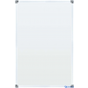 SMIT Mágneses, törölhető fehértábla, Softline alumínium keretben, 100x200 cm