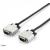 Equip 118865 VGA kábel HD15 apa/apa, duplán árnyékolt, 15m