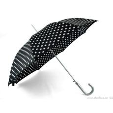 Női botfogantyús kilövős esernyő pöttyökkel