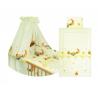 Bertoni 5 részes mintás ágyneműgarnitúra 360 fokos rácsvédővel babaágynemű, babapléd