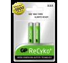 GP GP ReCyko+ 850mAh AAA Akku 2db/bl univerzális akkumulátor töltő