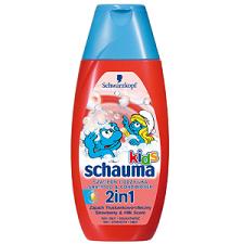Schwarzkopf Schauma Kids Tusfürdő & Sampon 250 ml sampon