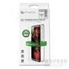 4smarts 360° Prémium Védő Szett Apple iPhone XR szilikon hátlap tok + üveg védőfólia, fekete