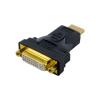 4world Adapter HDMI [M] > DVI-I [F] (24+5)  fekete