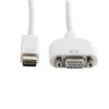 4world Adapter mini DVI [M] > VGA [F]  fehér